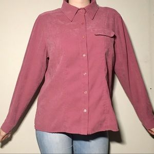 Tops - Vintage Tradition Country Collection Velvet Blouse
